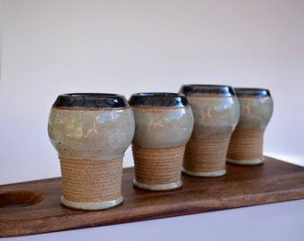 handmade studio pottery mugs/cups;