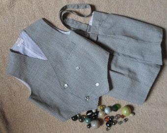 Costume pour garçon de 6 ans