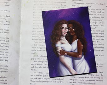 Zodiac sign post card - Gemini
