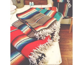 Serape Throw Blanket