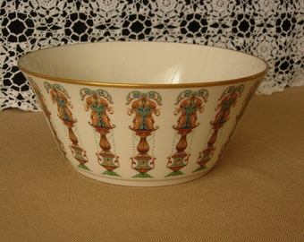Lenox Lido Salad Bowl or Serving Bowl with 24K Gold