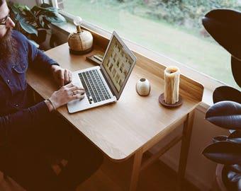 Compact Oak Desk