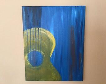 Blue Guitar #1