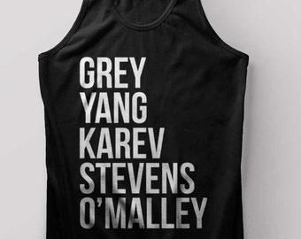 Grey's Anatomy Tank Top Greys Anatomy Shirt