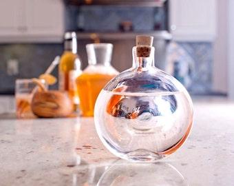 Handblown Glass Flask