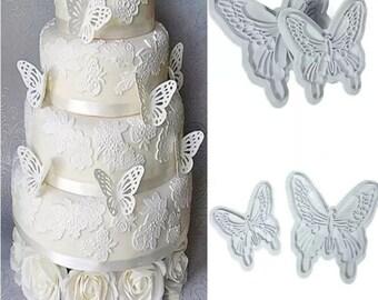Butterfly  fondant cutters