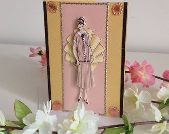 Handmade 3 D birthday card