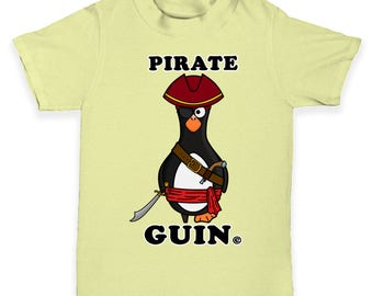 Pirate Guin The Penguin Baby Toddler T-Shirt