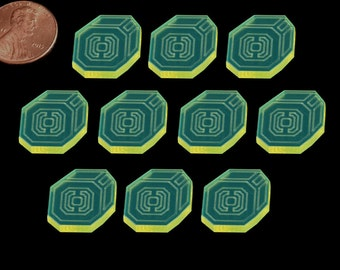 Sci-Fi Resource Token Set