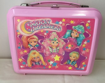 Moon Dreamers lunch box, Aladdin, vintage 1987