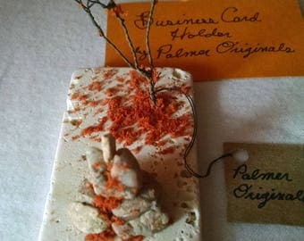 Late Fall Stones Card Holder