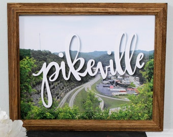 Pikeville Print - 8inx10in