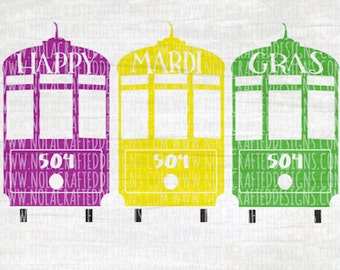 New orleans streetcar map