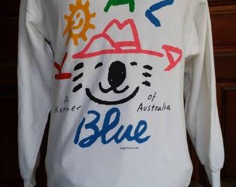 Vintage koala sweatshirt copyright 1988