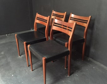 Retro mid-century  dining chairs