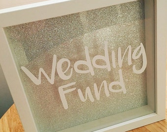 Money Box Frame - Wedding Fund