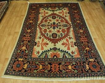 Stunning Collectible Rare Design Tehran Mahal Persian Oriental Area Rug 8X12
