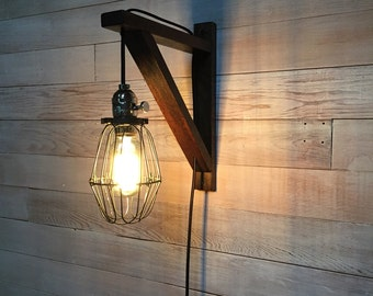 Sconce- Hanging Bulb