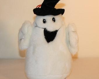 Vintage Ghost, Halloween Plush Stuffed Toy By Fiesta