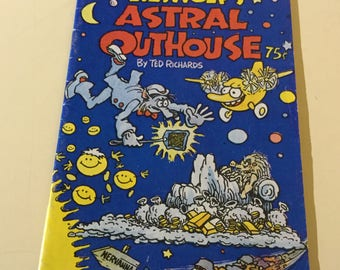 Astral Outhouse by Ted Richards Eco Funnies comix 1977