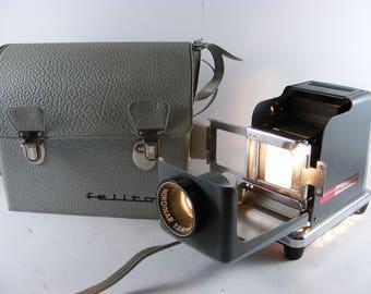 Vintage Vredeborch Felitor Slide Projector Diaprojector West Germany