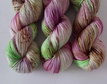 SALE Puto 'Rice Cakes' [Merino Sock] Akara Yarns handdyed merino sock wool yarn