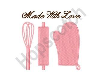 Kitchen Baker - Machine Embroidery Design