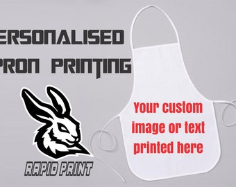 Personalised Apron - Print your custom image or text here!