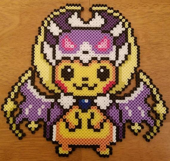 Pikachu Lunala Perler