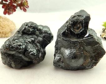 30% Off 2 BOTRYOIDAL HEMATITE Specimens (328 grams) Natural, High Quality Crystal Specimens #BHEMA3