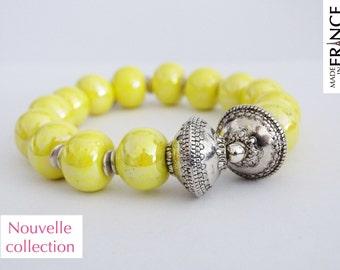 Olympus yellow bracelet