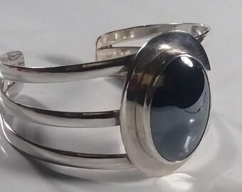 Pulsera de Plata 925 y Hemetita/ Silver 925 and Hemetite bracelet