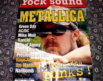 vtg poster METALLICA 90's