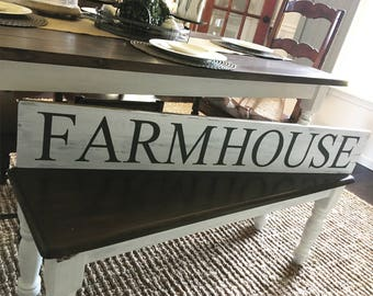 Large FarmHouse Sign / Wooden FarmHouse Sign / Farmhouse decor / Rustic Signs / Fixer Upper Style / Large Signs