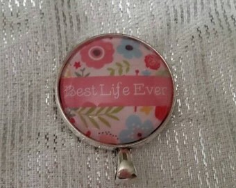 Best Life Ever JW Convention badge card holder with magnetic attachment, JW.org, JW gifts, Jw items, baptism gift
