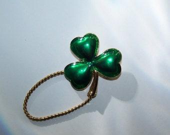 Shamrock St. Patrick's Pin