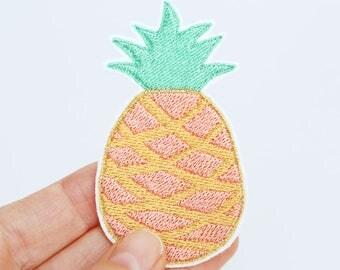 Ananas Patch Aufnäher Bügelbild
