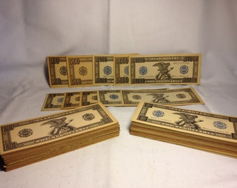 Vintage Whitman Publishing Company Play Money