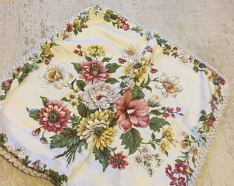 Vintage floral cushion covers