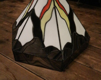 Large Art Deco Glass Light shade