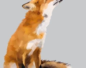 Fox (grey) DOWNLOAD