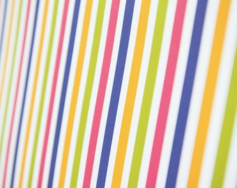 Stripe design gift wrapping paper