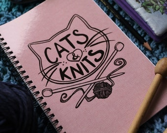 Cats & Knits*NOTEBOOK/SKETCHBOOK