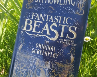 Fantastic Beast Book Clutch Bag