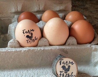 Farm Fresh Egg Stamp
