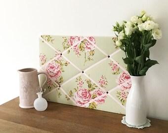 Classic Sage Rose Pinboard