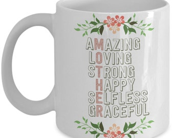 Mother's Day Gift - For Amazing Mothers - Mother's Day Mug