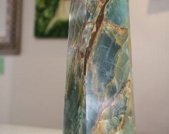 Brazilian Fluorite Obelisk