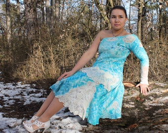 Winter sky - dress
