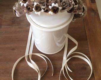 Flower wreath Crown of flowers flower hair accessories Flowercrown headpiece